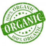 Organic certification seal