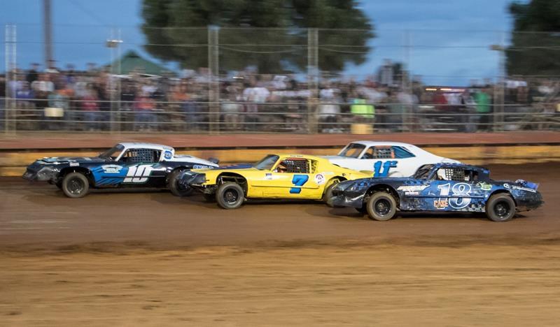 Bridgeport Logistics Sunset Speedway sponsorship - race cars