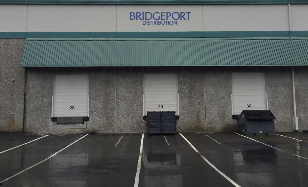 Bridgeport Distribution warehouse bays